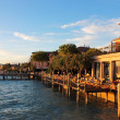 Stock Photo: Jetty Port and Quay in Sirmione
