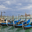 Royalty-Free Stock Photo: Gondolas near Piazza San Marco in Venice