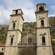 Facade of Cathedral in Kotor — Photo #19563611