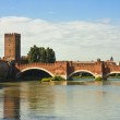 The Castelvecchio Bridge in Verona — Stock Photo #20424881