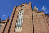 Santa Anastasia church in Verona — Stock Photo