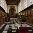 Trinity College Chapel in Cambridge — Stock Photo