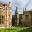 Pembroke college in cambridge — Stockfoto