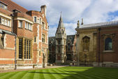 Pembroke College in Cambridge — Stock Photo