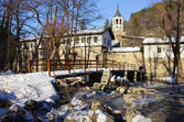 Dryanovo Monastery in the Winter — Stock Photo
