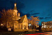 Russian Church of St Nicholas the Miracle Maker in Sofia — ストック写真