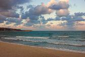 Black Sea Coast near Varna at Dusk — Stock Photo