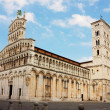 Stock Photo: BasilicSMichele in Foro in Lucca, Italy