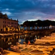 Stock Photo: Desenzano Del Gardmarinin early morning.