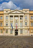 The Parliament of Croatia Facade — Stock Photo