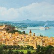 Stock Photo: Memories of Corfu