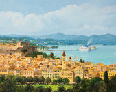 Memories of Corfu — Stock Photo