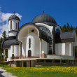 Church in Ski Resort Pamporovo — Stock Photo #27444427