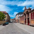 Stock Photo: Colmar old town square, Alsace, France