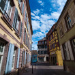Stock Photo: Street of Colmar, Alsace, France