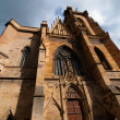 Stock Photo: Gothic church in Colmar, Alsace, France