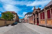 Colmar gamla torget, alsace, frankrike — Stockfoto