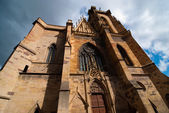 Gothic church in Colmar, Alsace, France — Stock Photo