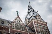 Rijksmuseum in Amsterdam — Stock Photo