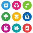 Color environmental icons — Stock Vector #19609077