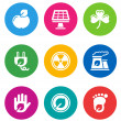 Color environmental icons — Stock Vector #19653805