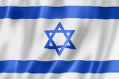 Bandera israelí — Foto de Stock