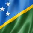 Постер, плакат: Solomon Islands flag