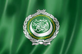 Arab League flag — Stock Photo