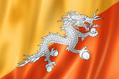 Bhutan flag — Stock Photo