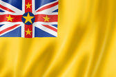 Niue flag — Stock Photo