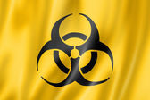 Biohazard flag — Stock Photo