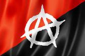 Anarchy flag — Stock Photo