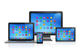 Computer Devices Set — Stock Photo