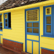 Traditional house in Guadeloupe — Stock Photo