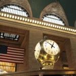 Grand Central Terminal Clock — Stock Photo