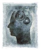 Funcionamiento interno de la mente humana — Foto de Stock
