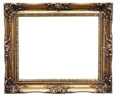 Golden Frame — Stock fotografie