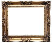 金色框架 — 图库照片