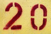 Twenty — Stock Photo