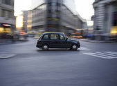 London Black Cab — Stock Photo