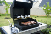 Gas Grill — Stock Photo