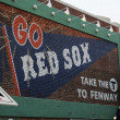Fenway Park in Boston Massachusetts - Stock Photo