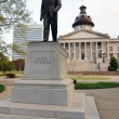 Strom Thurmond Statue at the South Carolina State Capital Building — Stock Photo