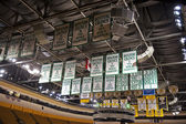 Boston Celtics Championship Banners — Stock Photo