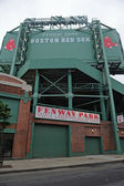Fenway Park in Boston Massachusetts — Stock Photo