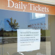 Ticket window — Stock Photo
