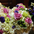 Stock Photo: Wedding Bouquets at Wedding