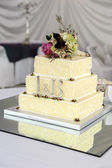 Wedding Cake With Details — Stock Photo