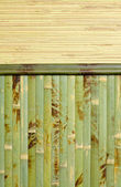 Wooden structure bamboo — Stock Photo