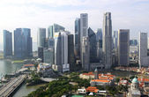 Urban landscape of Singapore. — Stock Photo